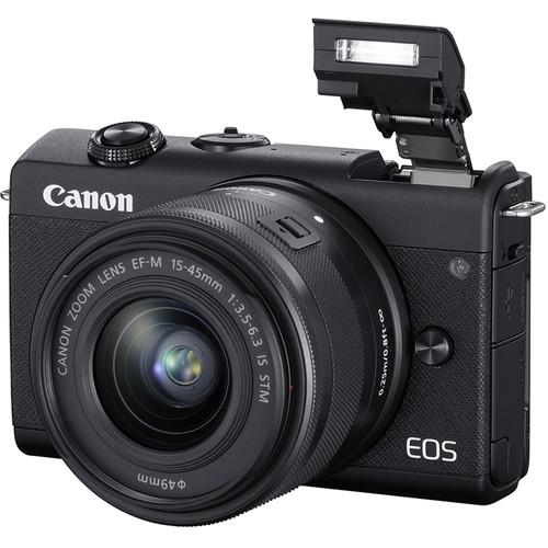 Kit de creacion de contenido camara MIRRORLESS 15-45mm   EOS M200 BK - CANON-23998