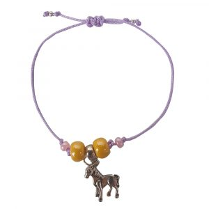 Horse bracalet lila y amarillo | SHANU KIDS-0