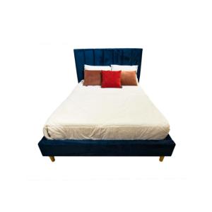 Cama matrimonial azul l MELODY-0