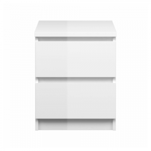 Mesa de noche blanca l NAIA-0