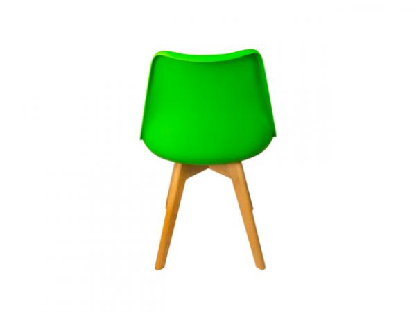 Silla de comedor verde l BORJAN-25479