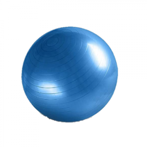 Pelota de yoga 65cm azul l MND-0