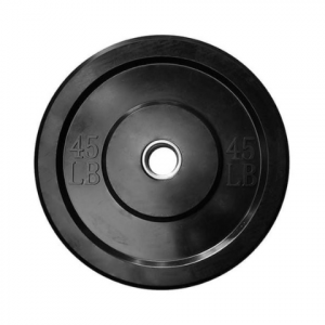Disco bumper 45lbs negro l MND-0