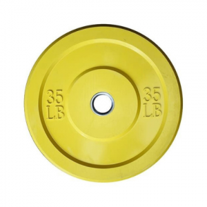 Disco bumper 35lbs amarillo l MND-0