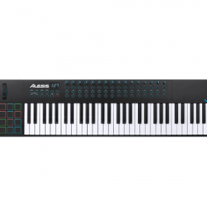 Controlador de teclados usb midi 61 teclas l ALESIS-0