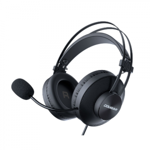 Audifonos 3.5mm con microfono negros l COUGAR-0