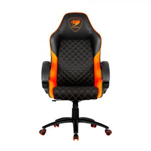 Silla gaming fusion negro-naranja l COUGAR-0
