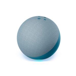 Bocina inteligente echo dot azul l AMAZON-0