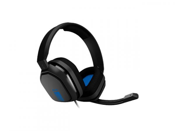 Audifonos 3.5mm con microfono negro-azul l LOGITECH-27130
