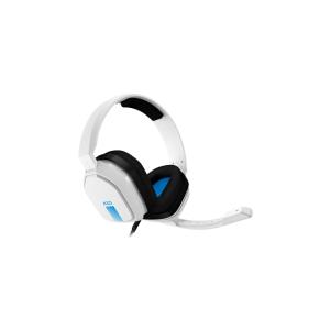 Audifonos 3.5mm con microfono blanco-azul l KLIP XTREME-0